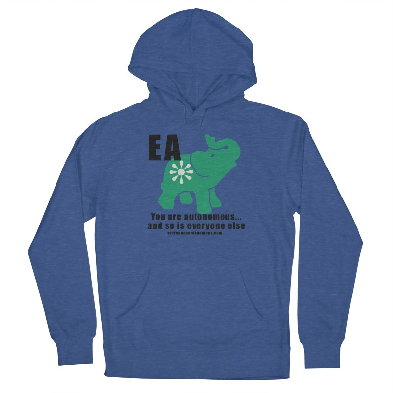 EA, Quote & WWW Men's French Terry Pullover Hoody by everyonesautonomous's Artist Shop