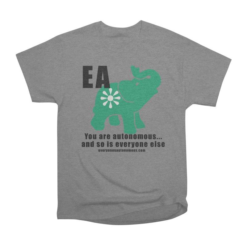 EA, Quote & WWW Men's Heavyweight T-Shirt by everyonesautonomous's Artist Shop