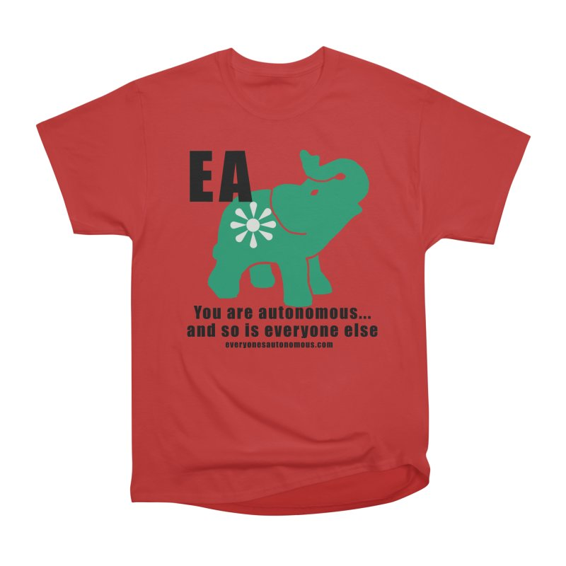 EA, Quote & WWW Women's Heavyweight Unisex T-Shirt by everyonesautonomous's Artist Shop