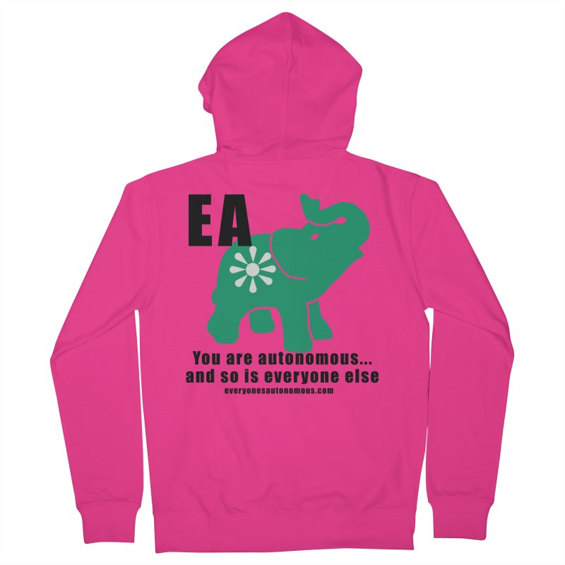 EA, Quote & WWW Men's French Terry Zip-Up Hoody by everyonesautonomous's Artist Shop