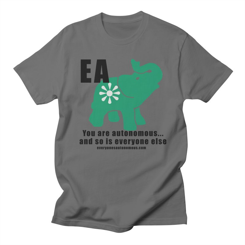 EA, Quote & WWW Men's T-Shirt by everyonesautonomous's Artist Shop
