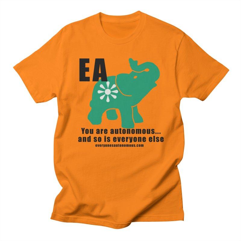 EA, Quote & WWW Women's Regular Unisex T-Shirt by everyonesautonomous's Artist Shop