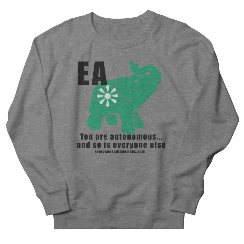 EA, Quote & WWW Women's French Terry Sweatshirt by everyonesautonomous's Artist Shop