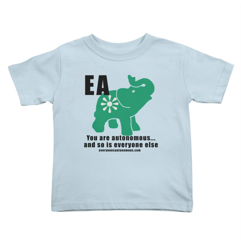 EA, Quote & WWW Kids Toddler T-Shirt by everyonesautonomous's Artist Shop