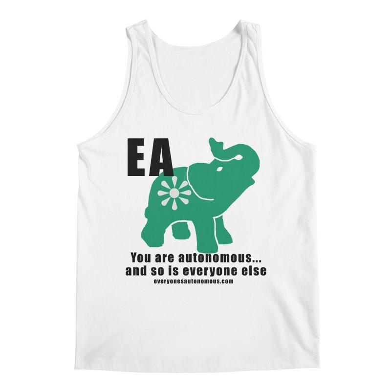 EA, Quote & WWW Men's Regular Tank by everyonesautonomous's Artist Shop