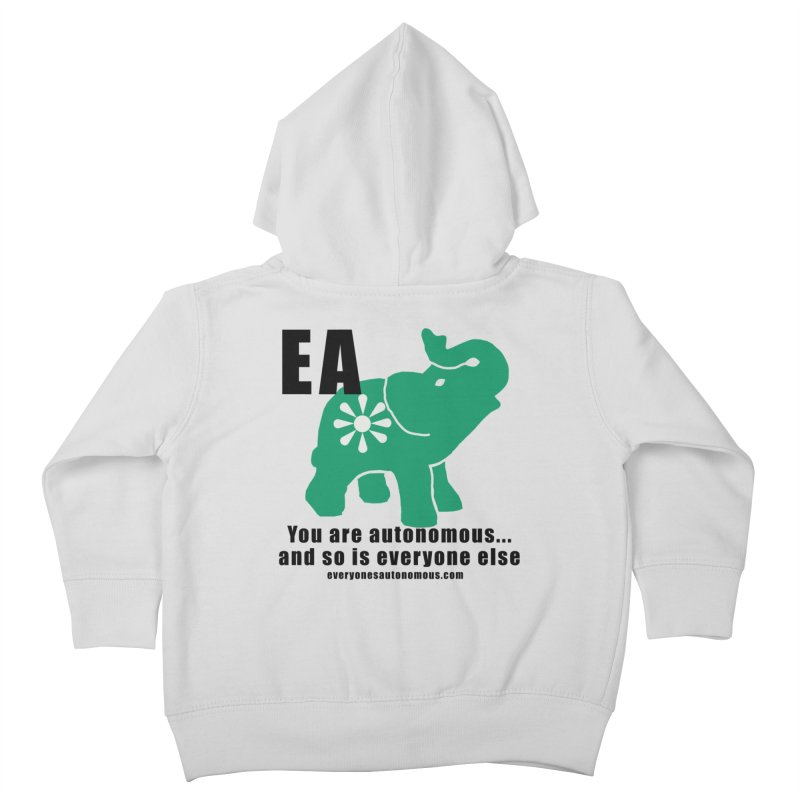 EA, Quote & WWW Kids Toddler Zip-Up Hoody by everyonesautonomous's Artist Shop