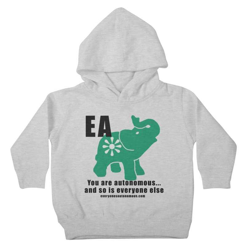 EA, Quote & WWW Kids Toddler Pullover Hoody by everyonesautonomous's Artist Shop