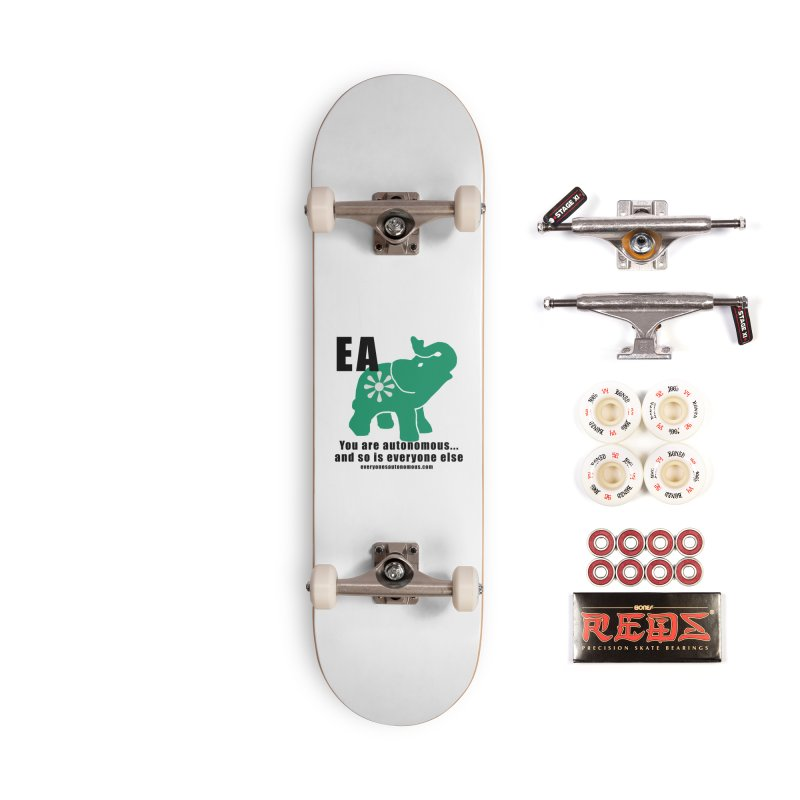 EA, Quote & WWW Accessories Complete - Pro Skateboard by everyonesautonomous's Artist Shop