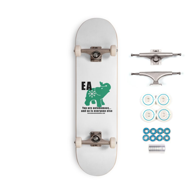 EA, Quote & WWW Accessories Complete - Basic Skateboard by everyonesautonomous's Artist Shop