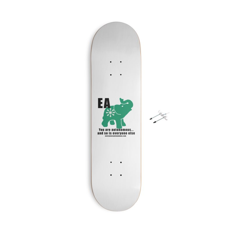 EA, Quote & WWW Accessories With Hanging Hardware Skateboard by everyonesautonomous's Artist Shop