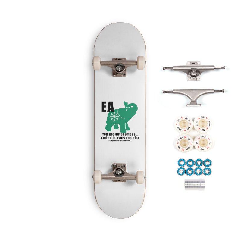 EA, Quote & WWW Accessories Complete - Premium Skateboard by everyonesautonomous's Artist Shop