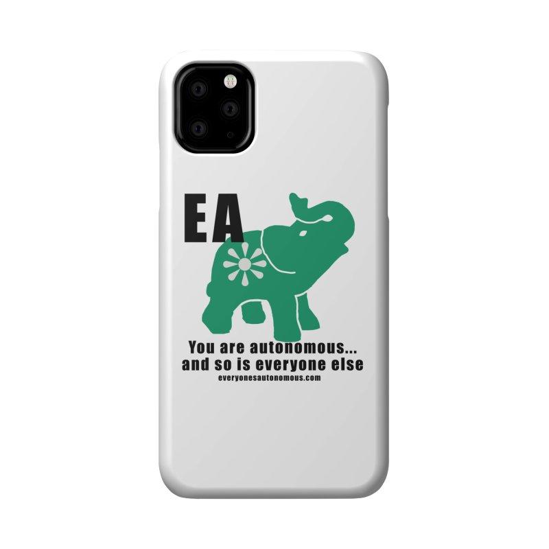 EA, Quote & WWW Accessories Phone Case by everyonesautonomous's Artist Shop
