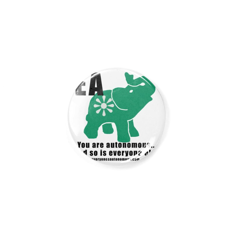 EA, Quote & WWW Accessories Button by Everyone's Autonomous' Artist Shop