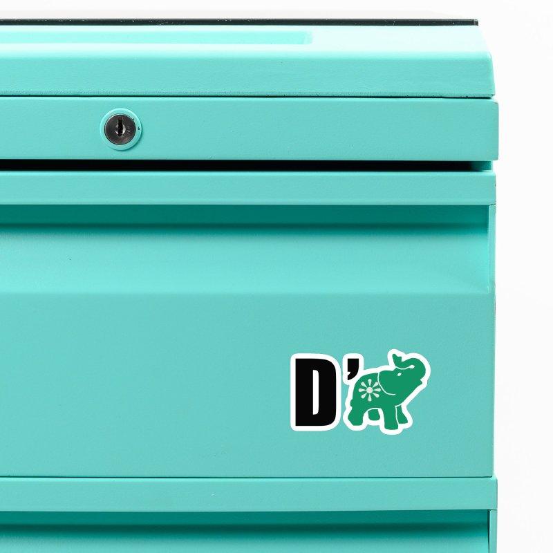 D'Elephant Accessories Magnet by Everyone's Autonomous' Artist Shop