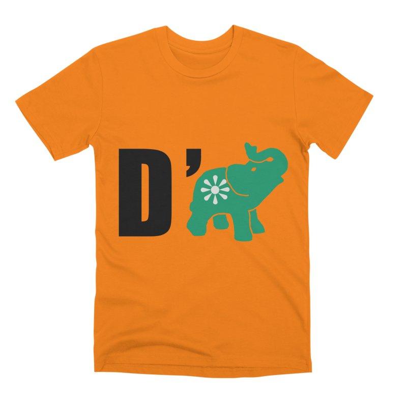 D'Elephant Men's Premium T-Shirt by everyonesautonomous's Artist Shop