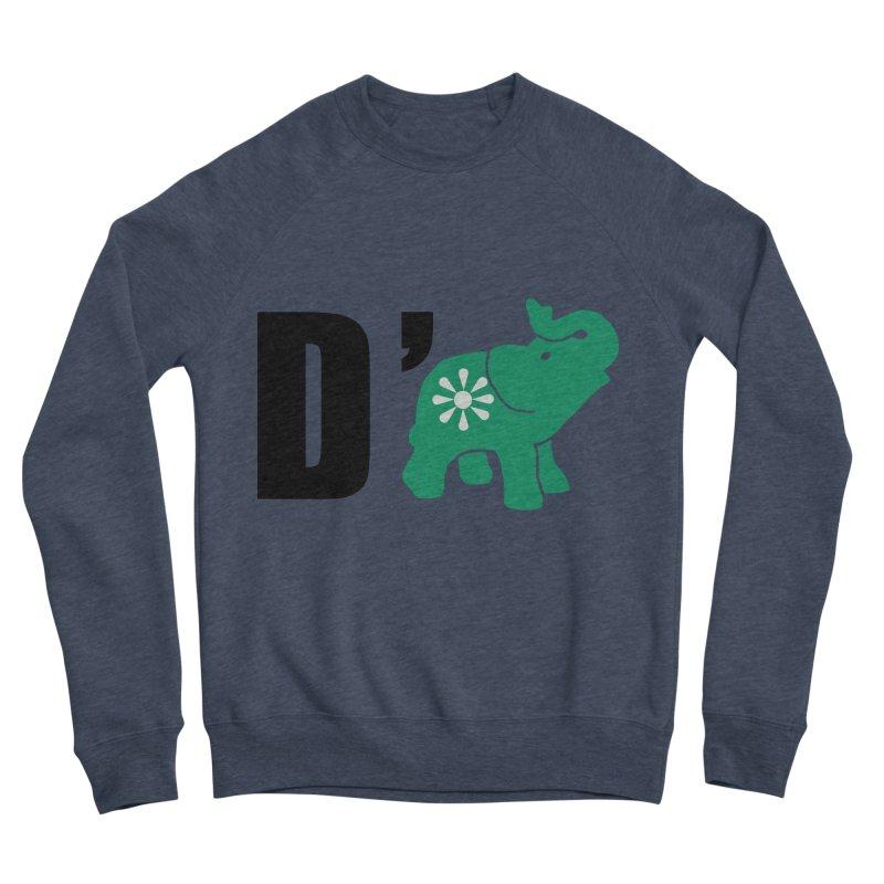 D'Elephant Men's Sponge Fleece Sweatshirt by everyonesautonomous's Artist Shop