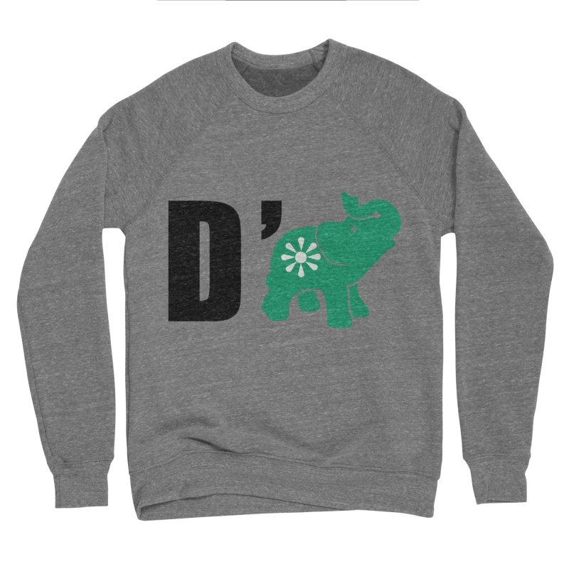 D'Elephant Women's Sponge Fleece Sweatshirt by everyonesautonomous's Artist Shop