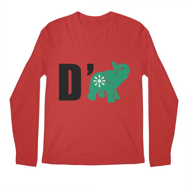D'Elephant Men's Regular Longsleeve T-Shirt by everyonesautonomous's Artist Shop