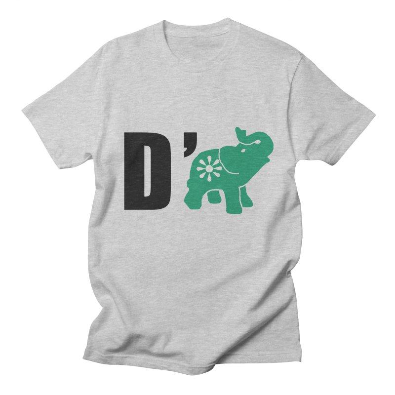 D'Elephant Men's Regular T-Shirt by everyonesautonomous's Artist Shop