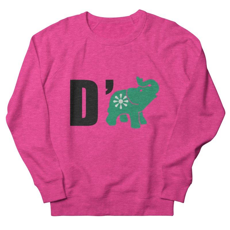 D'Elephant Women's French Terry Sweatshirt by everyonesautonomous's Artist Shop