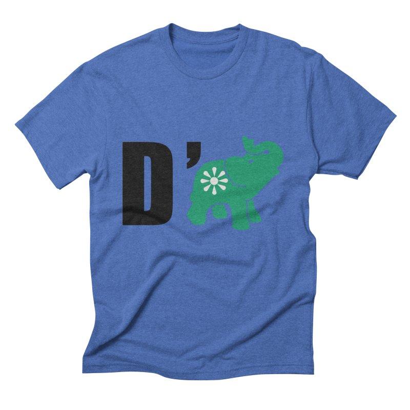D'Elephant Men's Triblend T-Shirt by everyonesautonomous's Artist Shop