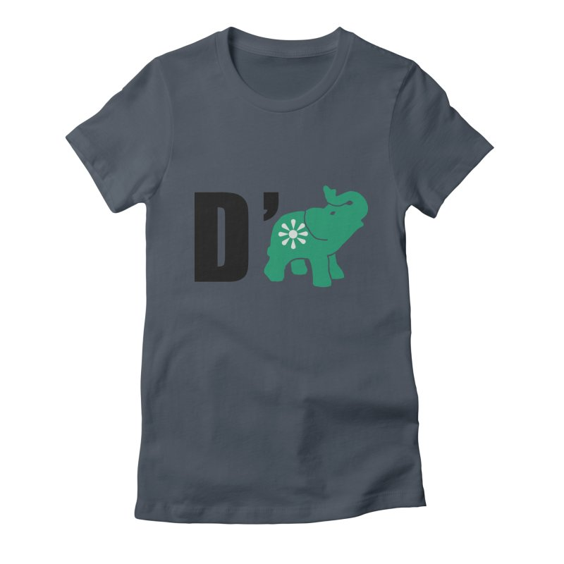 D'Elephant Women's T-Shirt by Everyone's Autonomous' Artist Shop