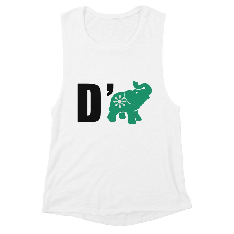 D'Elephant Women's Muscle Tank by everyonesautonomous's Artist Shop