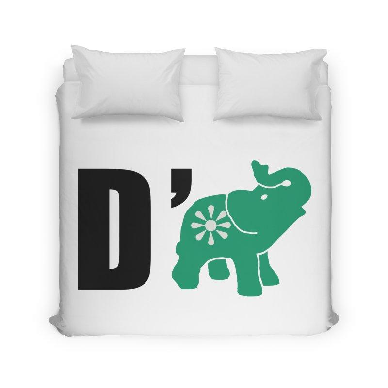 D'Elephant Home Duvet by everyonesautonomous's Artist Shop