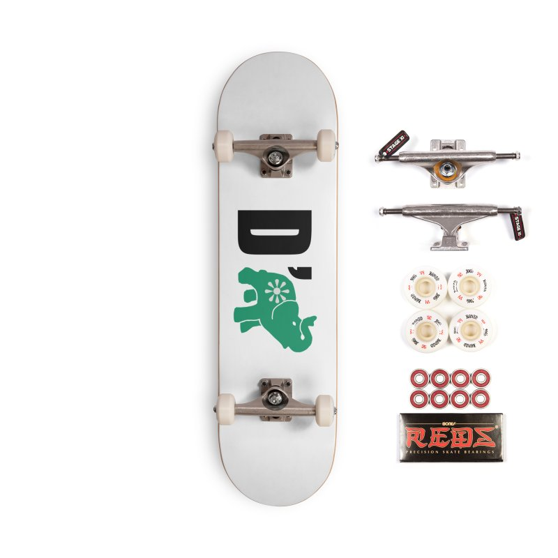 D'Elephant Accessories Complete - Pro Skateboard by everyonesautonomous's Artist Shop