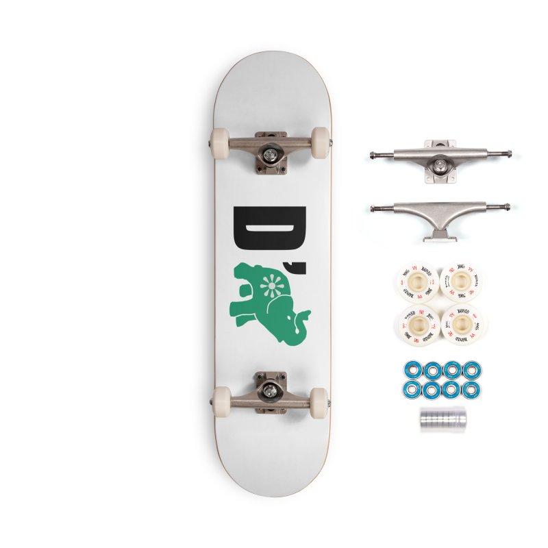 D'Elephant Accessories Complete - Premium Skateboard by everyonesautonomous's Artist Shop