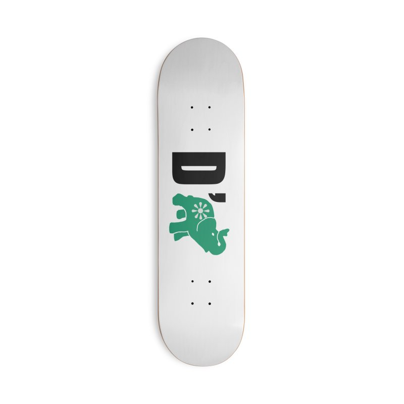 D'Elephant Accessories Deck Only Skateboard by everyonesautonomous's Artist Shop