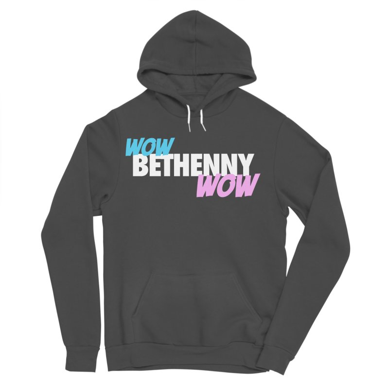 WOW Bethenny WOW Women's Sponge Fleece Pullover Hoody by everythingiconic's Artist Shop