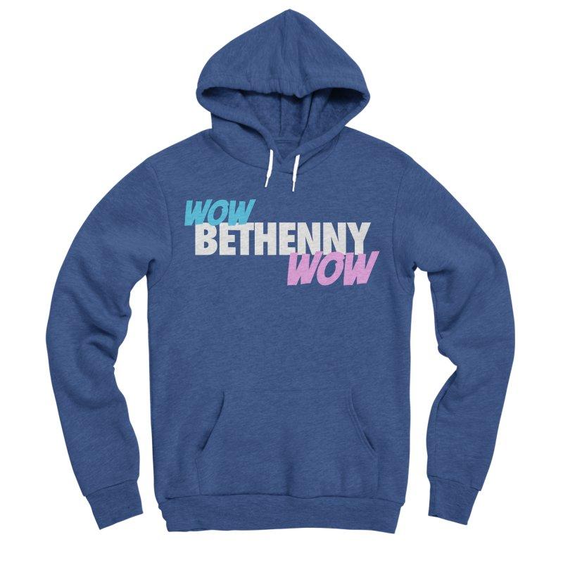 WOW Bethenny WOW Women's Sponge Fleece Pullover Hoody by everythingiconic's Artist Shop