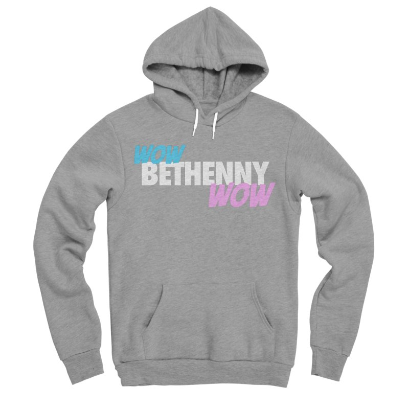WOW Bethenny WOW Men's Sponge Fleece Pullover Hoody by everythingiconic's Artist Shop