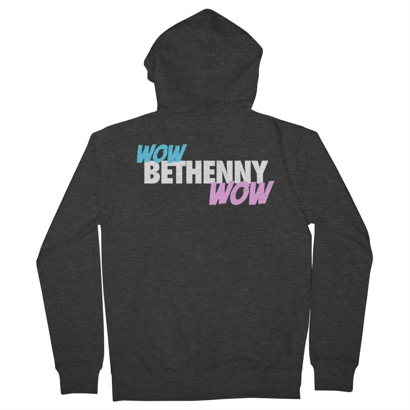 WOW Bethenny WOW Women's French Terry Zip-Up Hoody by everythingiconic's Artist Shop