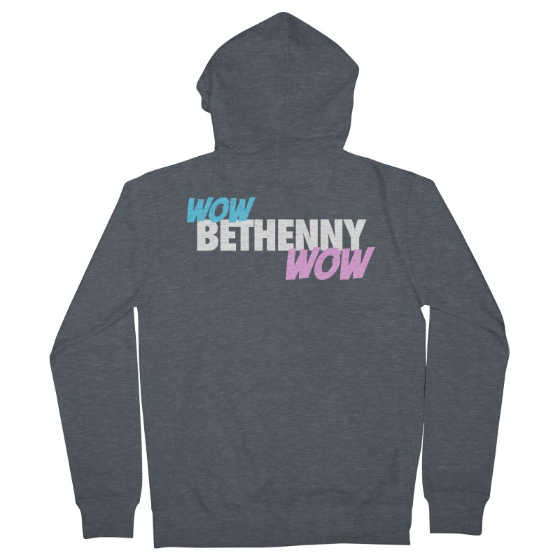 WOW Bethenny WOW Men's French Terry Zip-Up Hoody by everythingiconic's Artist Shop