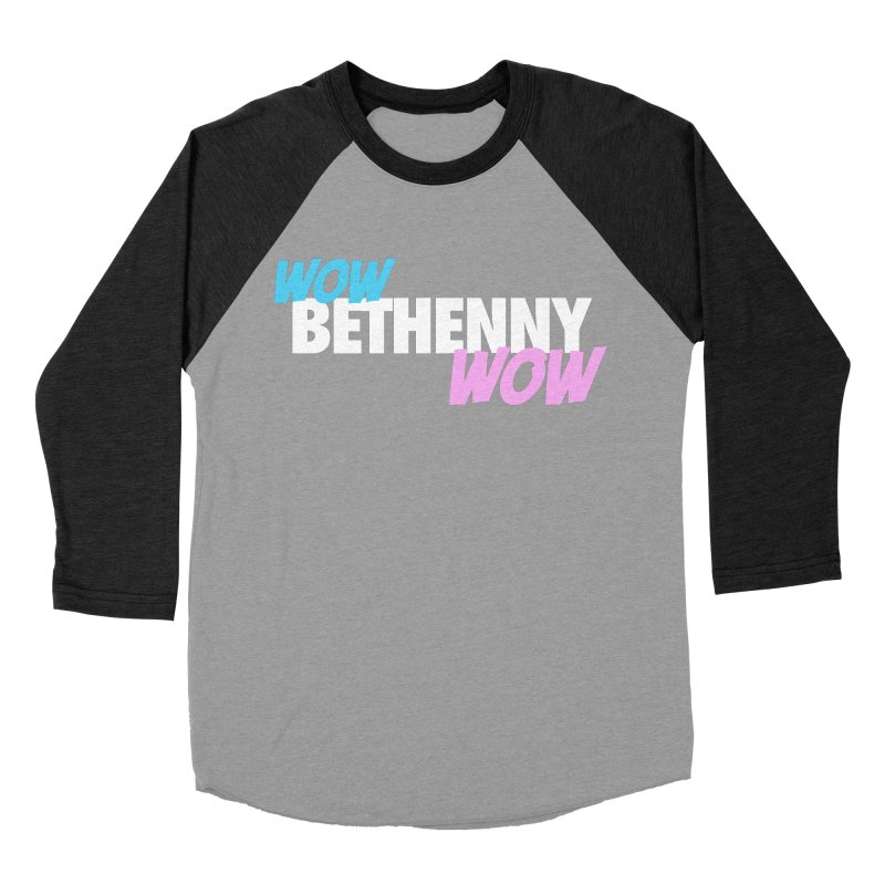 WOW Bethenny WOW Men's Baseball Triblend Longsleeve T-Shirt by everythingiconic's Artist Shop