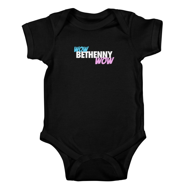 WOW Bethenny WOW Kids Baby Bodysuit by everythingiconic's Artist Shop