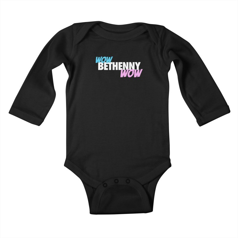 WOW Bethenny WOW Kids Baby Longsleeve Bodysuit by everythingiconic's Artist Shop