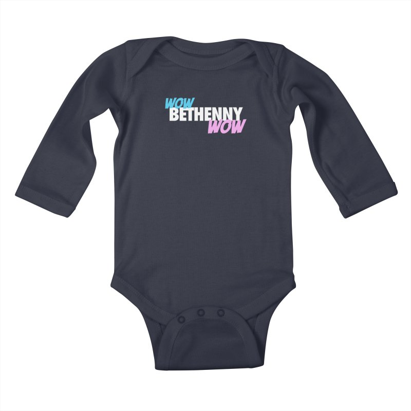 WOW Bethenny WOW Kids Baby Longsleeve Bodysuit by everythingiconic's Artist Shop