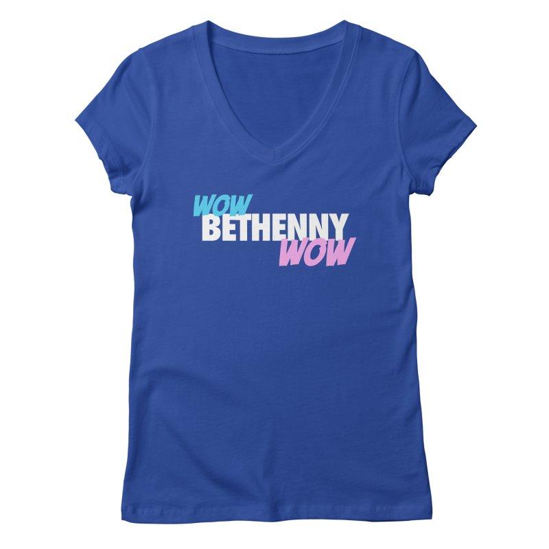 WOW Bethenny WOW Women's Regular V-Neck by everythingiconic's Artist Shop