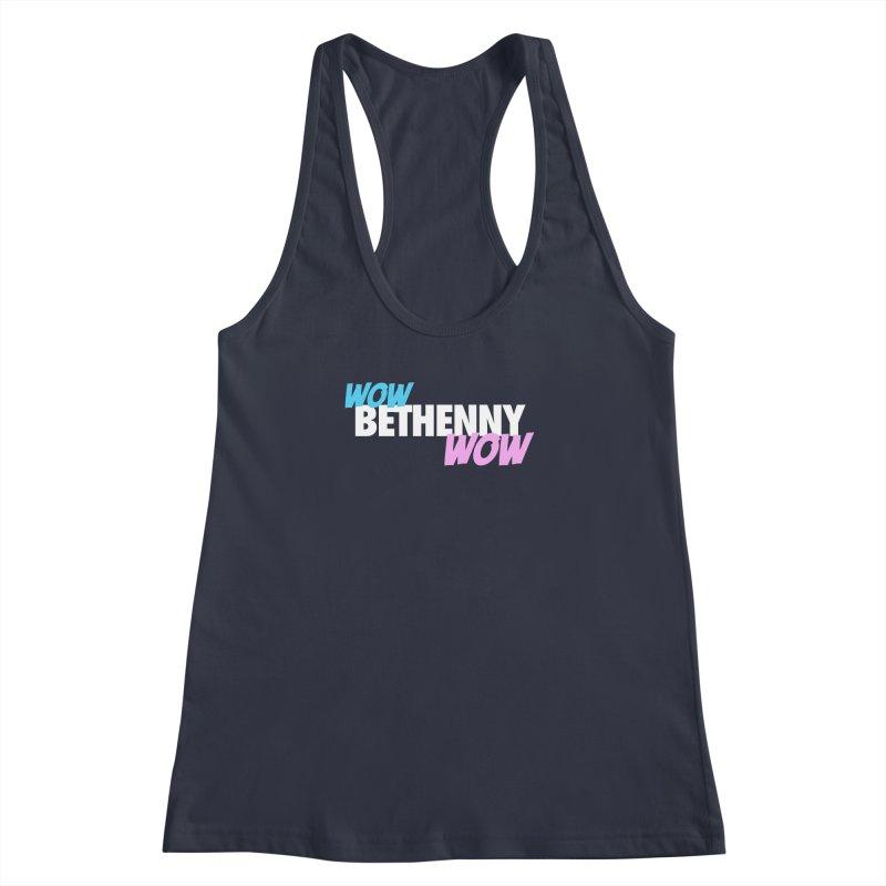 WOW Bethenny WOW Women's Racerback Tank by everythingiconic's Artist Shop