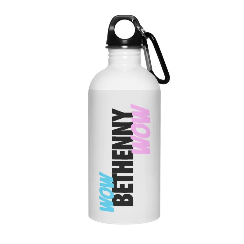 Wow Bethenny WOW (dark on light) Accessories Water Bottle by everythingiconic's Artist Shop