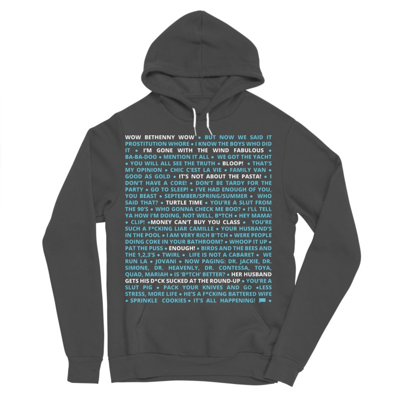 Iconic Bravo Quotes - Bravo-con: Limited Edition (on black) Women's Sponge Fleece Pullover Hoody by everythingiconic's Artist Shop