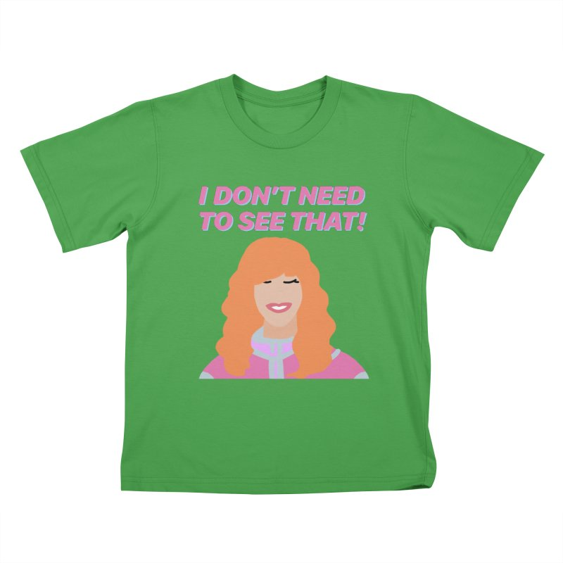 I DON'T NEED TO SEE THAT! - Valerie Cherish Comeback Kids T-Shirt by everythingiconic's Artist Shop