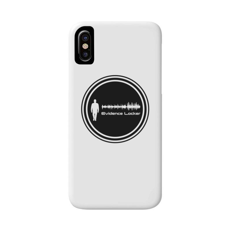 Evidence Locker Round Logo Accessories Phone Case by Evidence Locker Shop