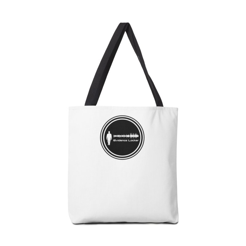Evidence Locker Round Logo Accessories Tote Bag Bag by Evidence Locker Shop