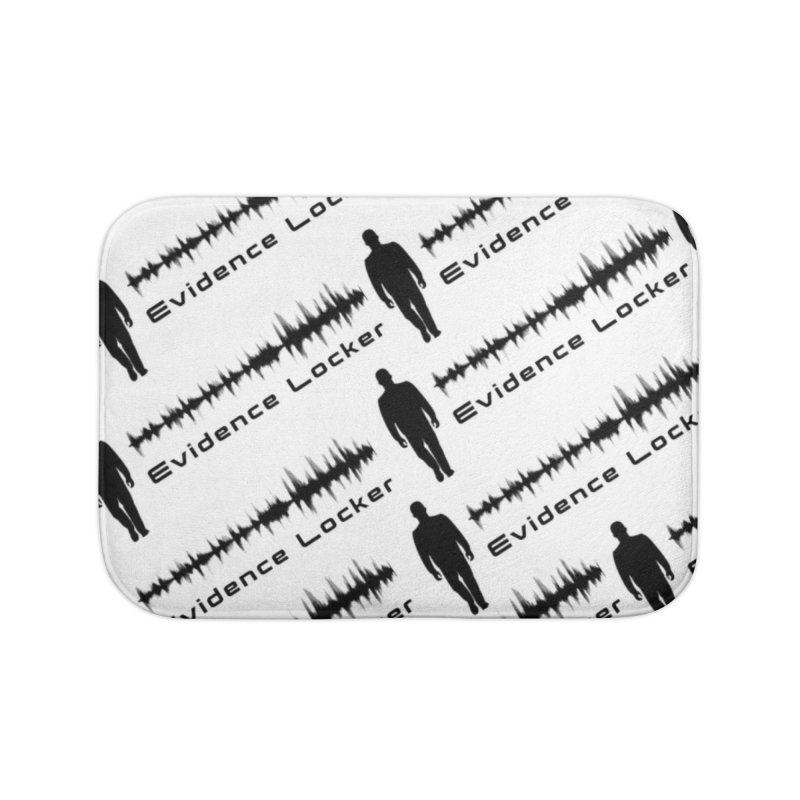 Evidence Locker Diagonal Design Home Bath Mat by Evidence Locker Shop