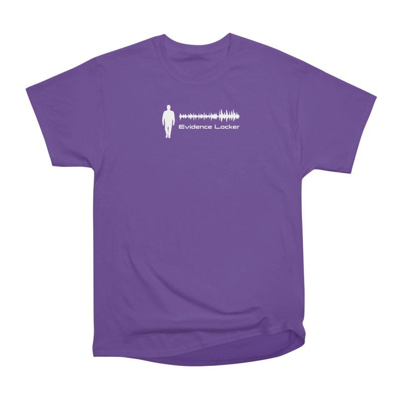 Evidence Locker Walker Wave Design Men's Heavyweight T-Shirt by Evidence Locker Shop