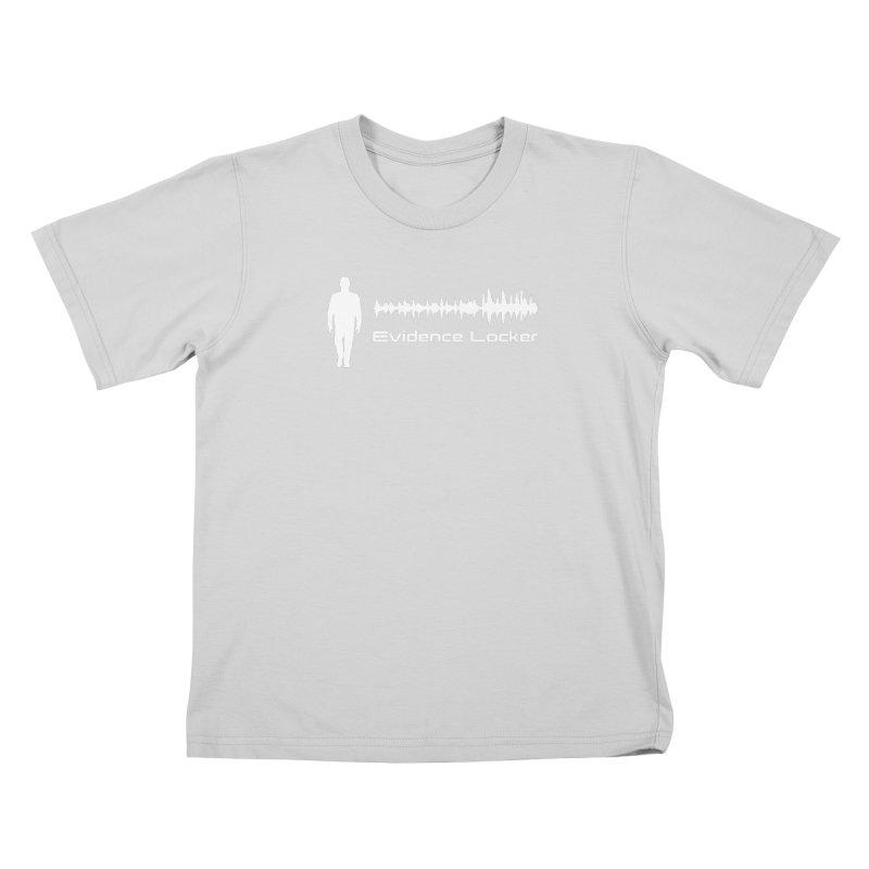 Evidence Locker Walker Wave Design Kids T-Shirt by Evidence Locker Shop